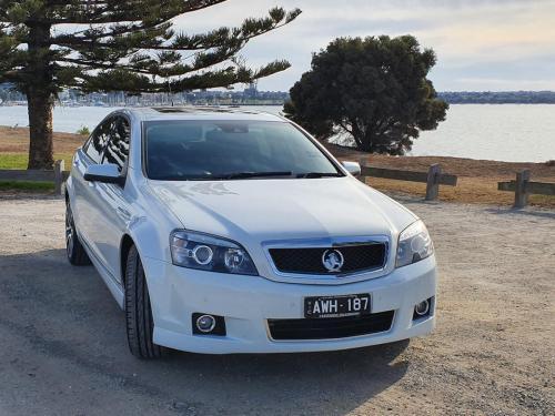 White Holden Caprice